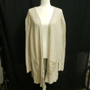 Madewell long cardigan size medium